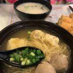 【香港太子(プリンスエドワード)】定番の粥と麺、チェーン店【西記粥店】