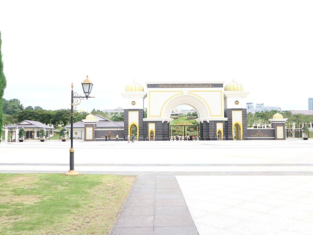 クアラルンプールの国立宮殿