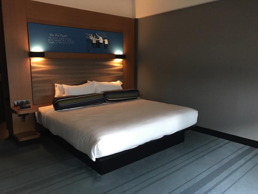 アロフトクアラルンプールセントラルホテル(KL Sentral)綺麗、広い、おしゃれ!【口コミ】